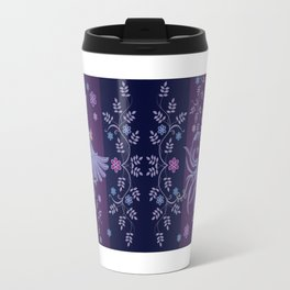 Batik or textile designs Travel Mug