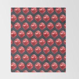 Juicy Pomegranate Throw Blanket