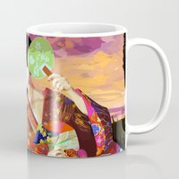 kitsune Mugs featuring Kitsune by Sandpaperdaisy