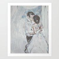 Rachel&George Art Print