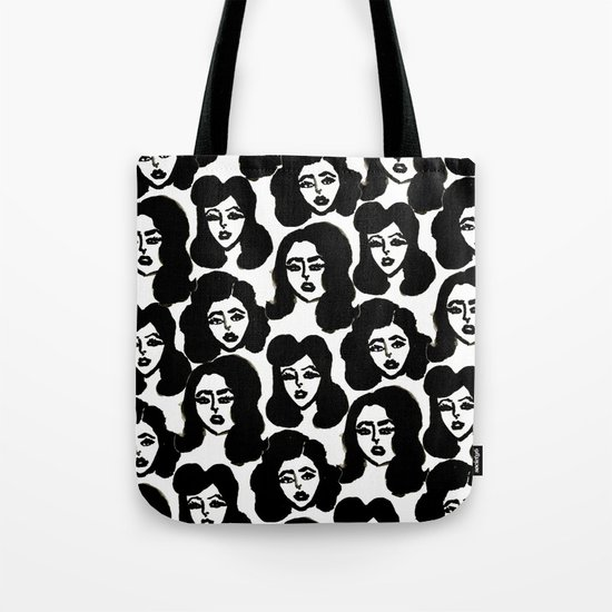Retro Girls Tote Bag