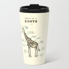 Anatomy of a Giraffe Travel Mug