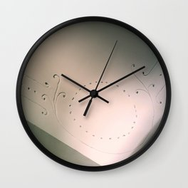 A Bit Of Added Interest Wall Clock