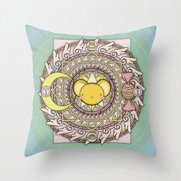Cuteness Mandala Throw Pillow