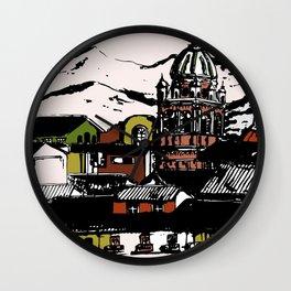 Cuzco - Peru cityview landscape Wall Clock