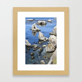 You and Me and the Ocean Framed Art Print