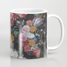 Vintage Bohemian Flower collage Coffee Mug