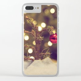It Needed Me Clear iPhone Case