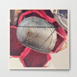 Redbeans Metal Print