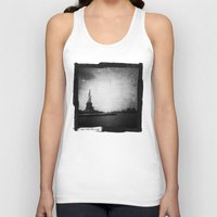 new york Tank Tops featuring New York, New York by Dan Howard