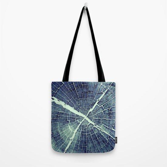 Abstract Bark Tote Bag