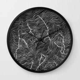 Inverted Viscosity Wall Clock