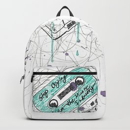 Stop Crying About The Music Industry Backpack