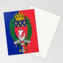 Flag of Paris 2 -Fluctuat nec mergitur Stationery Cards