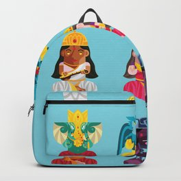 Indian Box Dolls Backpack