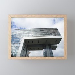 Kranhaus in Köln Framed Mini Art Print