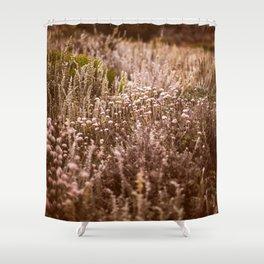 Northern California wildflowers Shower Curtain