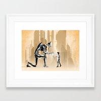 prometheus Framed Art Prints featuring Prometheus by Rafapasta