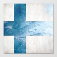 finland Canvas Prints featuring Finland by Fernando Vieira