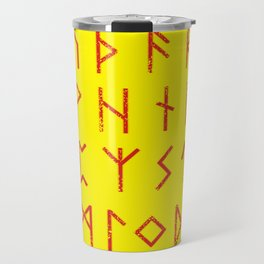 Elder Futhark Travel Mug