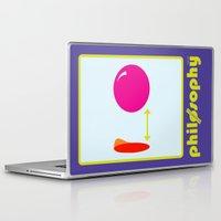 philosophy Laptop & iPad Skins featuring [UN] DISCIPLINE: PHILOSOPHY by THEK'art