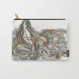 """Little Mermaid"" - by Fanitsa Petrou Carry-All Pouch"