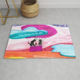 FLY AWAY WITH ME Rug