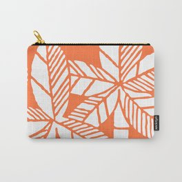 Tropical Palm Tree Composition Orange Carry-All Pouch