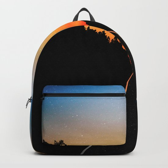 Keep Walking Don't Stop Backpack