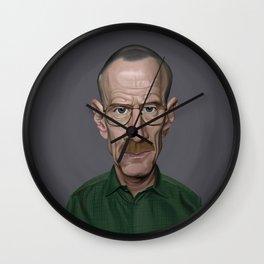 Celebrity Sunday ~ Bryan Cranston Wall Clock