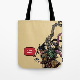 Gadget are girl bestfriend Tote Bag