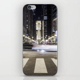 Street Blur iPhone Skin