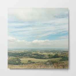 I Can See For Miles Metal Print