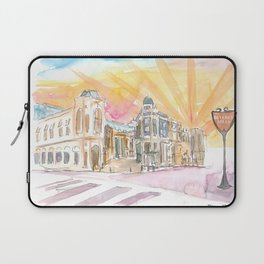 Rodeo Drive Scene Beverly Hills Los Angeles Laptop Sleeve