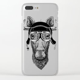 Los Speed Rebel Clear iPhone Case