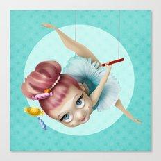 The trapezist Canvas Print