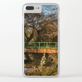 The River Pang At Tidmarsh Clear iPhone Case