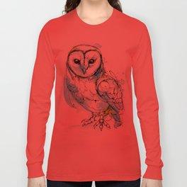 Aqua Tyto Owl Long Sleeve T-shirt