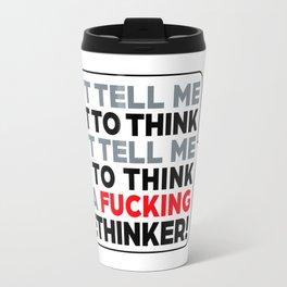 the Freethinker Travel Mug