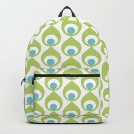 Retro Avocado Lime Green Backpack