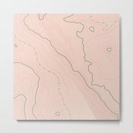 Maps Maps Maps Metal Print