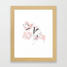 Ink Snake Framed Art Print