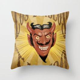 Los Diablos Throw Pillow