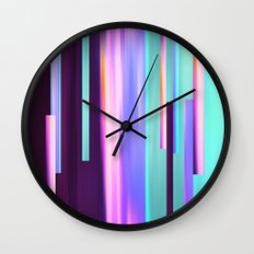 Mint Creams Wall Clock