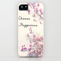 Choose Happiness Slim Case iPhone (5, 5s)