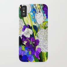forest flowers 1 Slim Case iPhone X