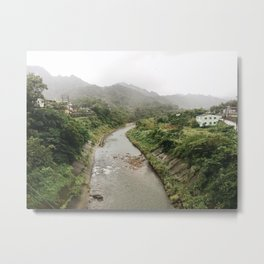 Taiwan Metal Print