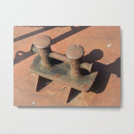 Retro antiques for the economy and transport Metal Print