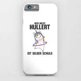 Unicorn The Hullern Sports Cute Hulacorn iPhone Case