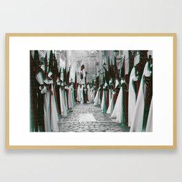 glitchtober_05 Framed Art Print